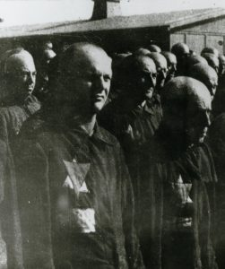 Jewish inmates of Sachsenhausen, imprisoned after the November Pogrom spring 1939,