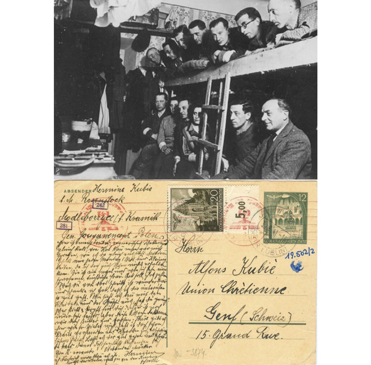 Messages from the Ghetto – Viennese transports to the General Government in early 1941